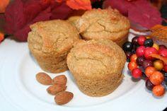 The Healthy Happy Wife: Cinnamon Grain Free Muffins (Dairy, Gluten/Grain and Refined Sugar Free)