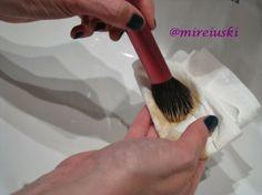 Limpieza brochas de maquillaje
