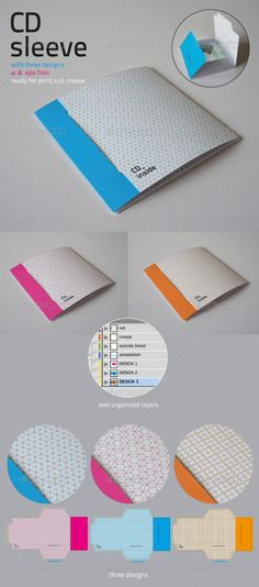 CD Sleeve CD sleeve packaging Font from this link… Cd Packaging, Sleeve Packaging, Packaging Design, Cd Cover Design, Receipt Template, Folder Design, Music Artwork, Album Design, Print Templates