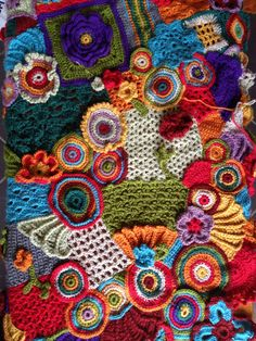 The eternally growing scrumble samplerFreeform crochet scrumble patterns freeform crochet is a way of making a series of motifs created – Artofit Freeform Crochet, Crochet Art, Irish Crochet, Crochet Motif, Crochet Designs, Crochet Crafts, Yarn Crafts, Crochet Flowers, Crochet Stitches