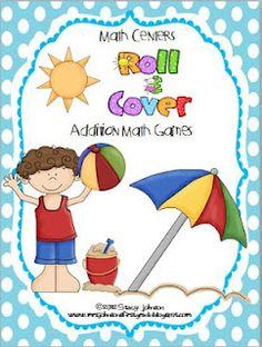 Free Summer TIme Math Center game