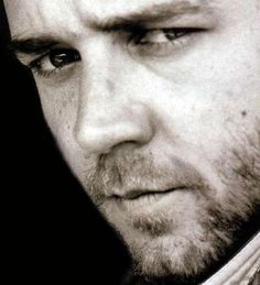 """Russell Crowe - I don't usually have a thing for """"bad boys"""" but he totally does it for me.  *shrug*"""