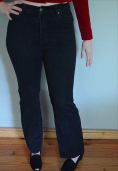 Urban Outfitter Black Skinny Slim High Waist Cheep Monday Jeans