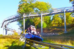 PA's only Mountain Coaster! 4500' of pure excitement! #IAmAdventure #mountaincoaster