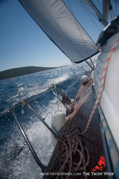 Croatia, sailing the YACHT WEEK North route...