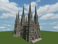 Ideal Cathedral (1:1 scale) Minecraft Project