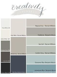 FAVORITE PAINT COLOR , 2014 Reader's favorite paint colors from The Creativity Exchange. by stella