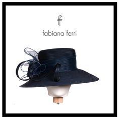 #Accessori...  #Cappello rivestito in chiffon color polvere con fiocco laterale e broche strass :-) #collezione2016 #newcollection #blu #elegance