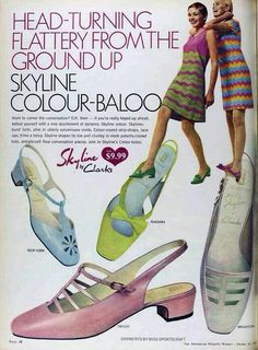 1960s] ~ shoes & hosiery on Pinterest | 111 Pins