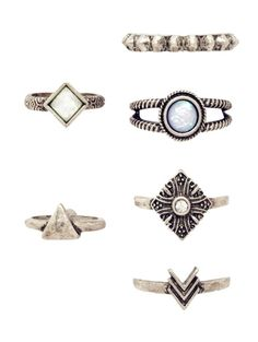 GET $50 NOW | Join Zaful: Get YOUR $50 NOW!http://m.zaful.com/6-pcs-tribal-geometry-retro-rings-p_215687.html?seid=1734232zf215687