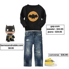 Taylor Joelle Designs: Children's Style Guide - Batman Fan