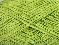 Fettuccia Fine Light Green at NGS NET Yarn Store
