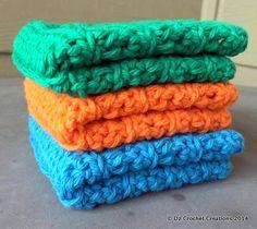Cotton Crocheted Wash Cloths   Baby Wash Cloths  by HandMadeByDz, $9.00