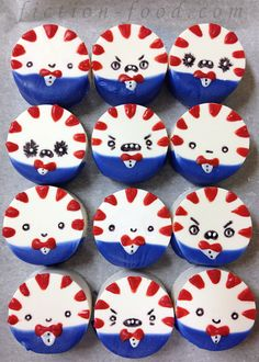 """Peppermint Butler Patties for """"Adventure Time"""" (homemade peppermint patties treats) Adventure Time Birthday Party, Adventure Time Cakes, Adventure Time Parties, Peppermint Butler, Abenteuerzeit Mit Finn Und Jake, Homemade Peppermint Patties, Cake Games, Cute Food, Food Art"""