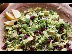 What's Gaby Cooking - Brussels Sprouts Salad