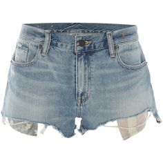 Denim and Supply Ralph Lauren Boyfriend Shorts American Flag Pocket... (150 BRL) ❤ liked on Polyvore featuring shorts, bottoms, pants, sale women shorts, cotton shorts, pocket shorts, american flag shorts, american flag pocket shorts and jean shorts
