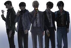 """高槻つづ trên Twitter: """"… """" Anime Art Girl, Anime Guys, Super Manga, Detective Conan Shinichi, Police Story, Kaito Kuroba, Amuro Tooru, Kaito Kid, Detektif Conan"""