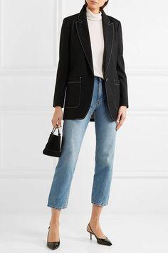 Totême - Original Cropped Mid-rise Slim-leg Jeans - Light denim -