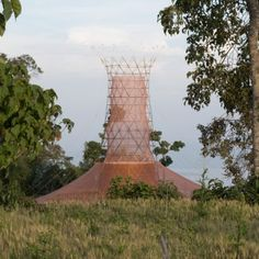 torre de recogida de agua de Warka Agua