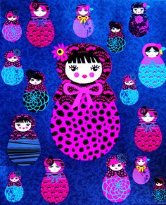 Matryoshka, Matryoshka by lindscatt, via Flickr www.matrioskas.es