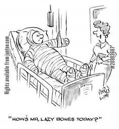 Hospital Ward funny cartoons from CartoonStock directory - the world's largest on-line collection of cartoons and comics. Hospital Cartoon, Nurse Cartoon, Medical Humor, Nurse Humor, Funny Cartoons, Funny Comics, Funny Pictures, Lazy, Nursing