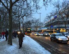 Winter in Berlin Steglitz....