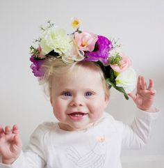 Gorgeous Handmade Floral Crown