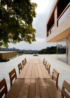 interior and exterior living/entertaining area, this house captures the view from inside and out