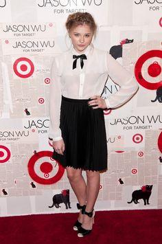 Chloe Moretz @ Jason Wu for Target launch, 2012