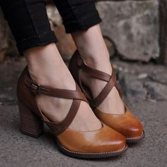 2015 New Arrival Artmu Vintage High-heeled Sandals,Sexy Low Women's Shoes