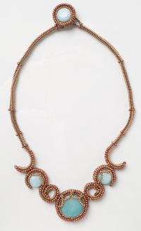 Athena Necklace from I Can Herringbone by Melissa Grakowsky