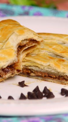 Recipes Using Puff Pastry, Recipe For 4, Food Humor, Perfect Food, Creative Food, Sweet Recipes, Bakery, Dessert Recipes, Cooking Recipes