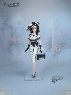 tenue outfit + accessoires pour fashion royalty barbie silkstone vintage #1687 | eBay