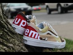 502a429230440 Custom Bape Shark Teeth Vans
