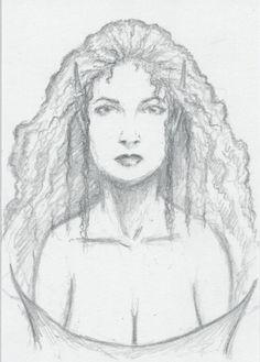 ARWEN (5/28/14)  original fantasy art, ACEO, tolkien, lotr, lord of the rings