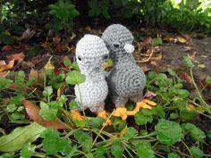 Crochet baby pigeon