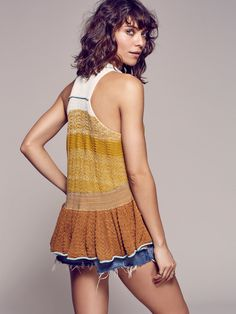 Free People Peplum Polo, $128.00