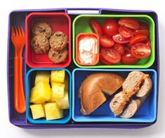 Healthy School Lunches & Snacks     Low-Cal Snack Foods: Hole New PB&J (via Parents.com)