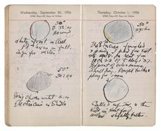 The Analog Musings Of Famous Artists Will Inspire You To Break Open A Diary