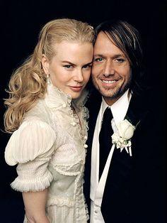 Nicole Kidman and Keith Urban Wedding Dress
