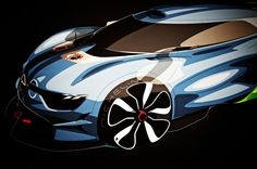 Design process: Renault Alpine A 110-50 :: Cardesign Community