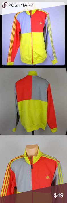 a1d185fee1bd2 Adidas Men s Track Jacket Size 2XL NMD This item is in great condition as  seen in