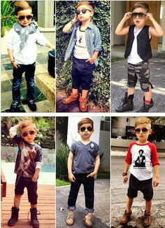 4 year-old Alonso Mateo's got the swag! I wish I could get these clothes for Cody!