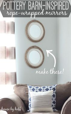 DIY Room Decor | Pottery Barn Projects by DIY Ready at http://diyready.com/diy-projects-pottery-barn-hacks