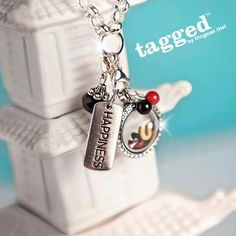 Origami Owl Tagged Line Necklace Locket  www.justcharming.origamiowl.com