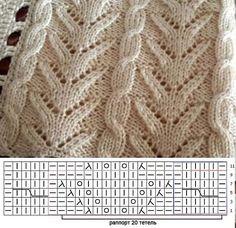 Вязание. Схемы. Петельки. Вязание на заказ : Hobby Group. Creativity : Odnoklassniki