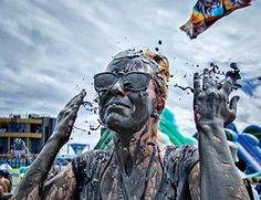 Boryeong mud festival in South Korea – The most popular festival in South Korea. Visit to daecheon beach in the summer. World Festival, Maine, Festivals, Concerts, Festival Party