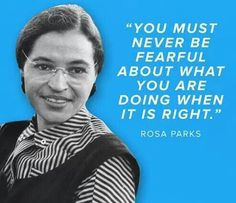 Remind your kids of the courage and accomplishments of women like Rosa Parks when studying American history.