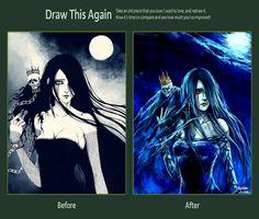 Draw This Again: Mara by NanFe.deviantart.com