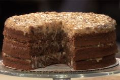 Daphne Oz's German Chocolate Cake | Follow this Dr. Oz Recipe board Now and Make it later!